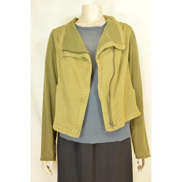 Thread & Supply Jackets & Blazers - Thread & Supply jacket SZ L drab olive green moto